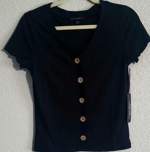 large women blouse botton down